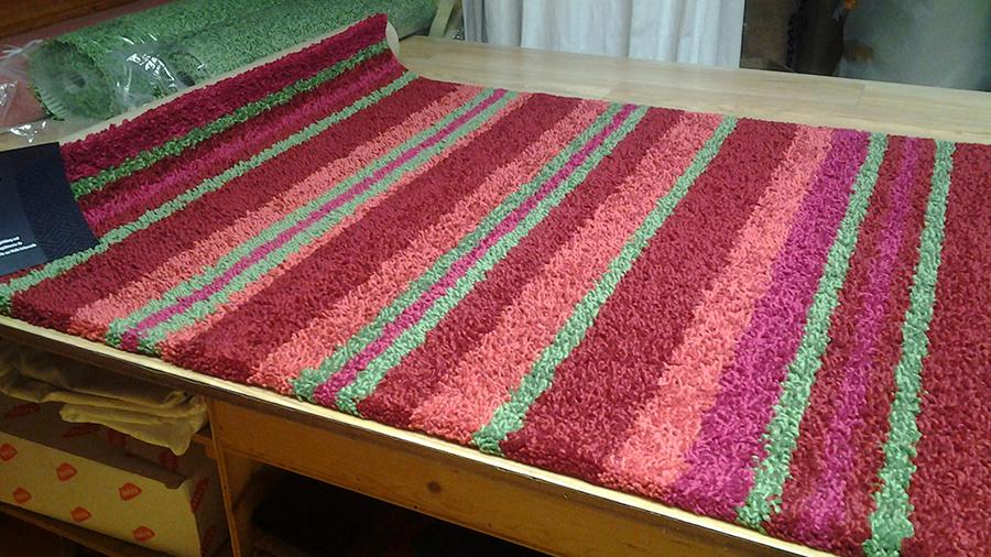 handcrafted Teppich von JAB-Anschütz